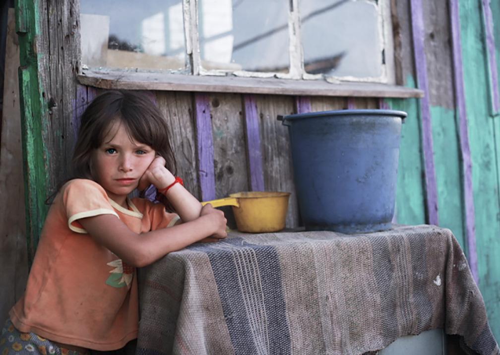 Hjälp ett barn i Ukraina - till ett liv värt att leva