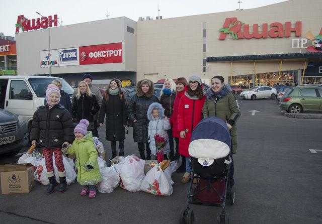 Tack för julgåvan till familjerna i Ukraina.