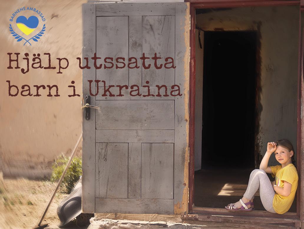 HJÄLP UTSATTA BARN I UKRAINA